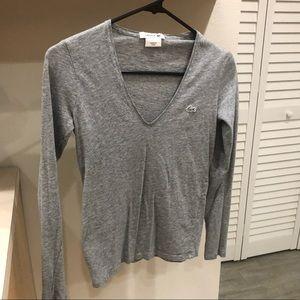 Lacoste Woman's Long Sleeve - Size 32 (xxs)